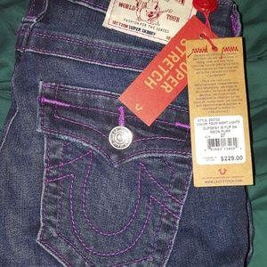 BNWT True religion Super skinny jeans 27
